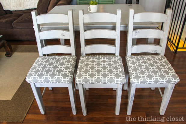 how to clean fabric chair seats