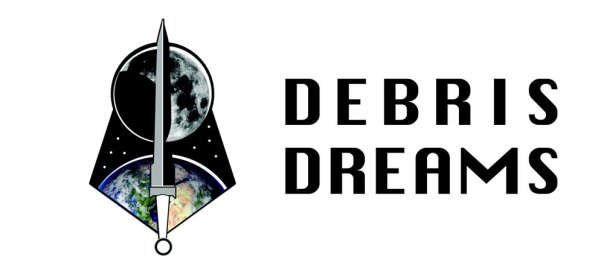 "Lunar Cycle logo with title ""Debris Dreams"""