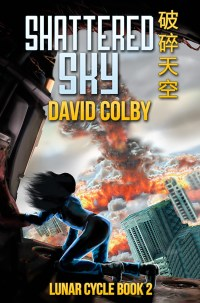 Book cover: Shattered Sky by David Colby