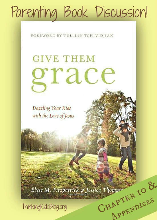 Join us as we finish up the discussion on Give Them Grace!