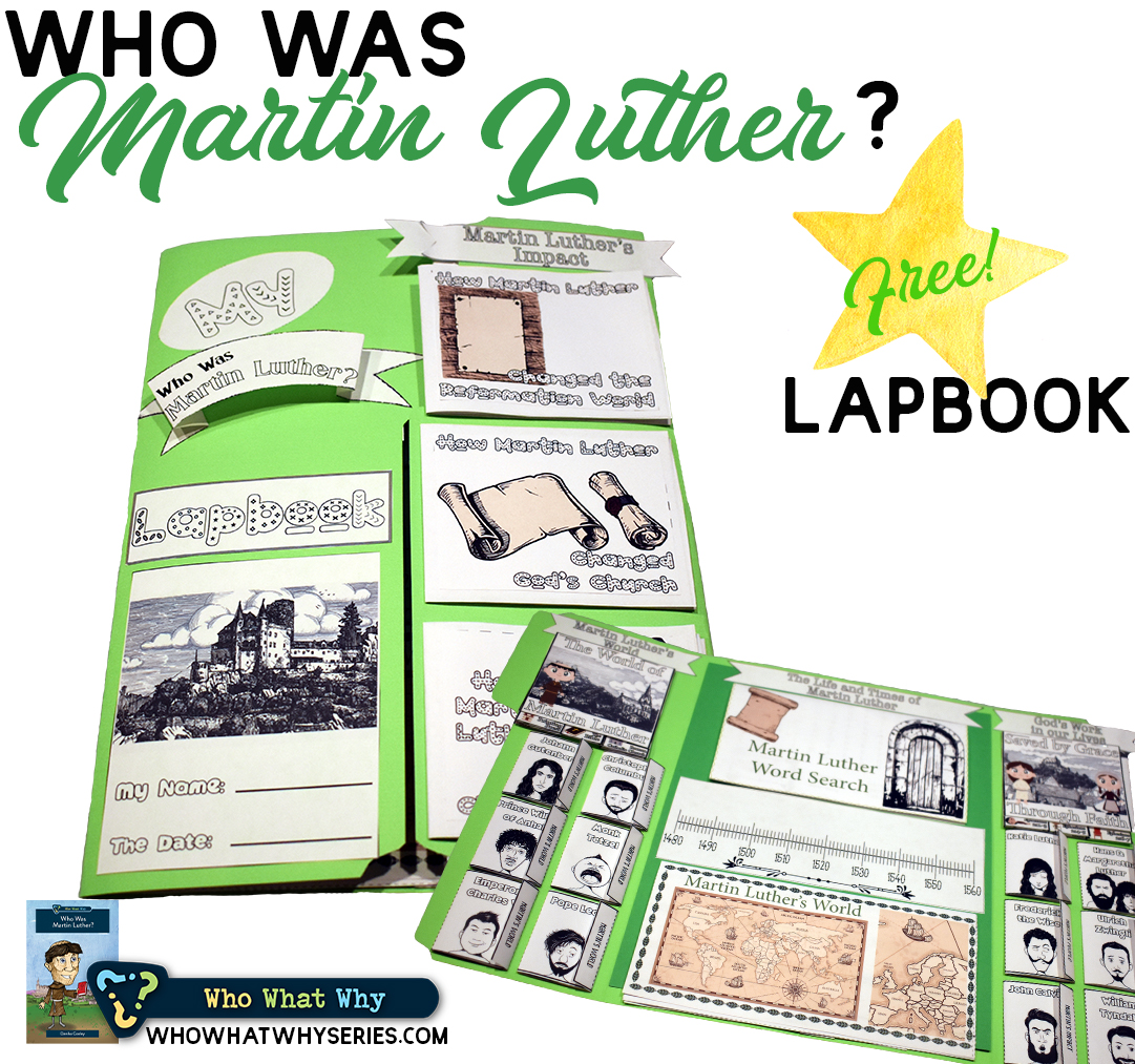 Martin Luther History for Kids | Biography Lapbook