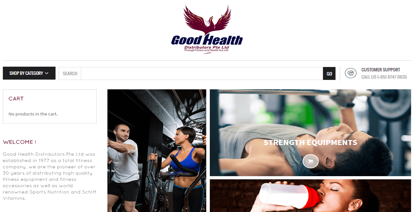 Thinking Notes Projects Showcase - Good Health Website