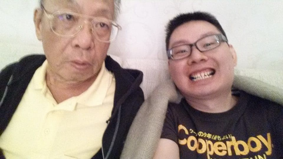 My First,Last and Only Selfie with my Father