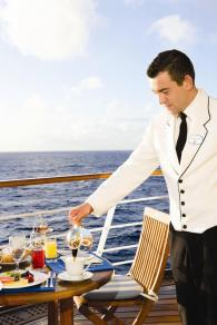 Butler service on Silversea.