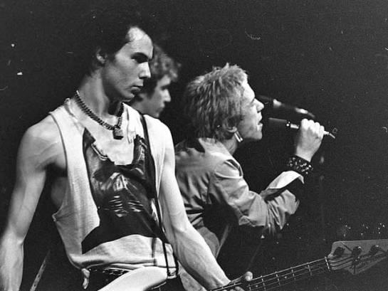 Sid Vicious in Sex Pistols.