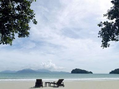 The Beach at The Datai on Langkawi, Malaysia.