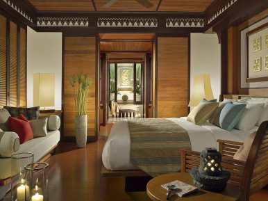 Standard interior at Pangkor Laut Resort, Malaysia.