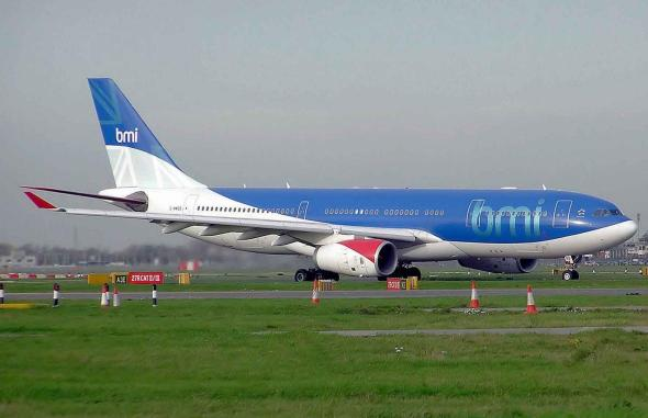 BMI A330-200 taxiing at London Heathrow. Courtesy of Wikipedia.