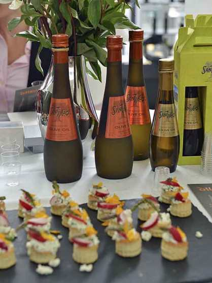 A sample of oil and delicacies from CIOOA 2014