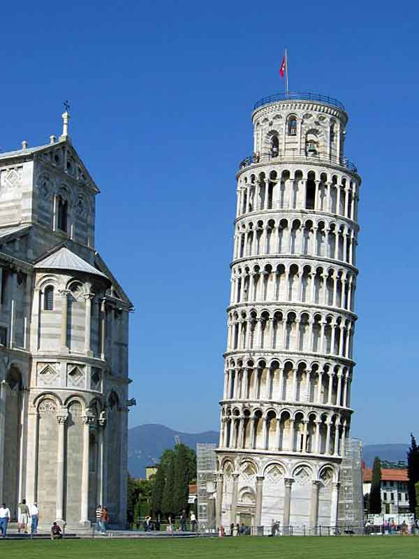 The Leaning Tower of Pisa could be one destination.