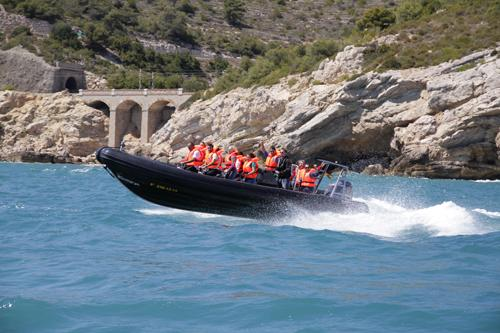 A RIB ride can be such an adrenaline rush!