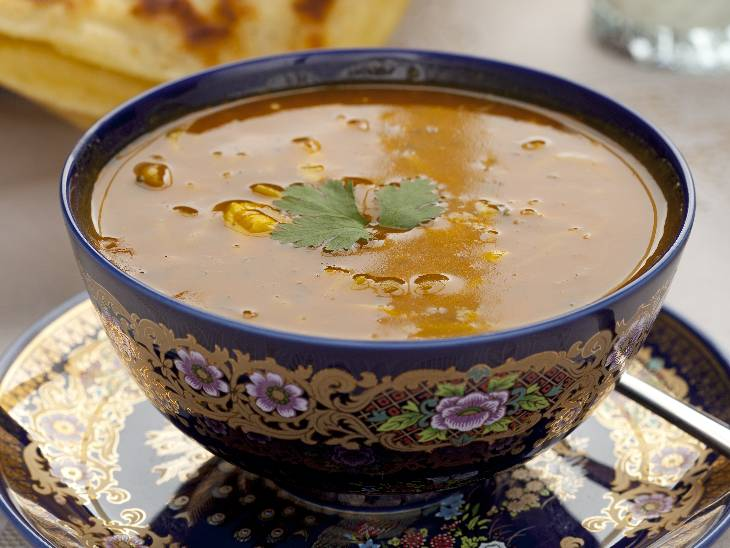 Harira soup in Marrakech.