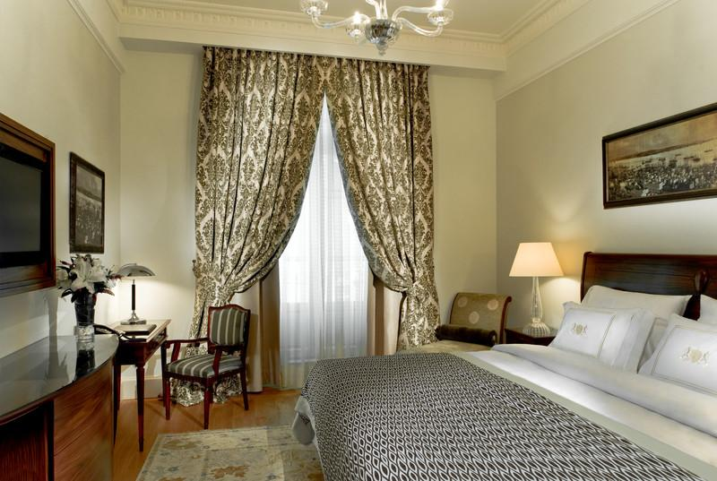 Deluxe Room at Pera Palace Hotel in Istanbul.