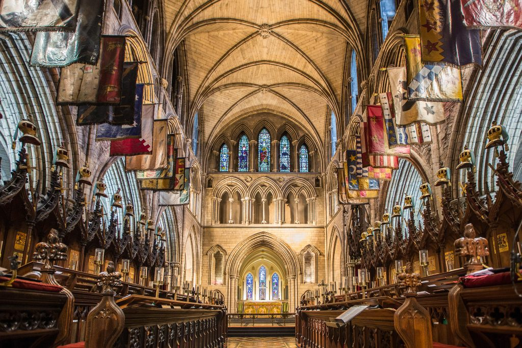 St Patrick´s Cathedral in Dublin.