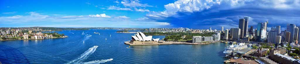Sydney Harbour Panorama.