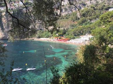 Approaching Plage Mala by stairs from Cap D´Ail village.Approaching Plage Mala by stairs from Cap D´Ail village.