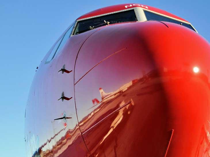 Norwegian Boeing 787 Dreamliner. Photographer Kristin S. Lillesen, Norwegian Pressrom.