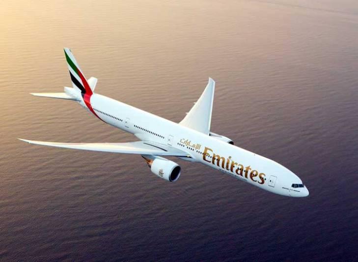 Emirates Boeing 777.
