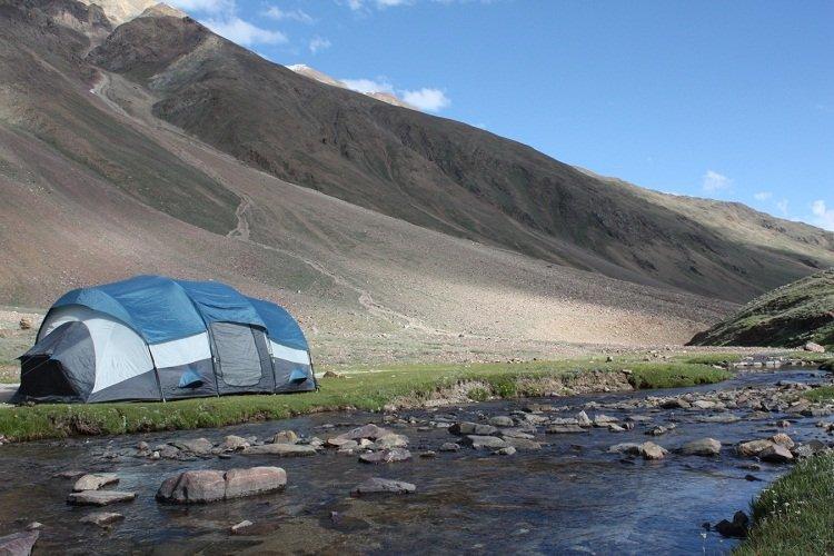 Chandertal Lake Camping