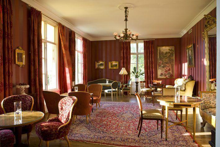 Salon at Toftaholm Herrgård.