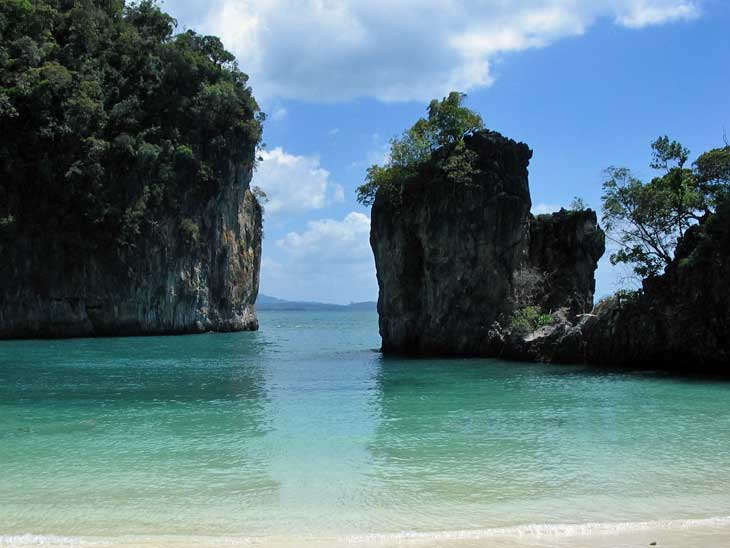 Koh Hong outside Phuket.