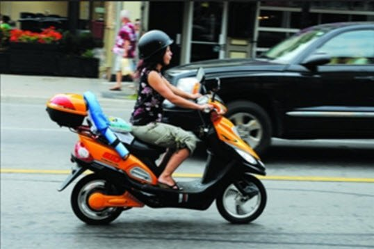 how to get motorscooter license