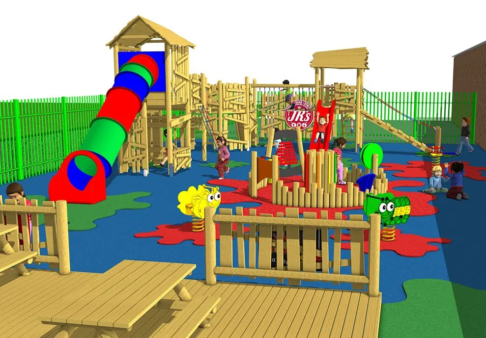 3D play equipment design
