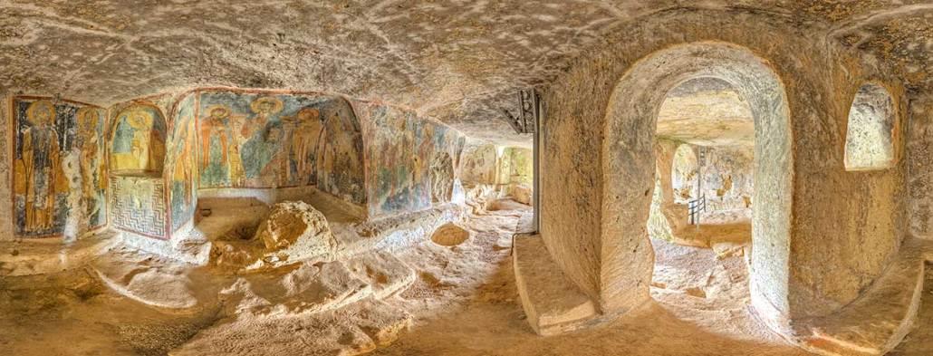 chiesa rupestre di san lorenzo civiltà rupestre puglia e basilicata