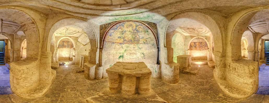 cripta di san salvatore a giurdignano in provincia di lecce civiltà rupestre puglia e basilicata