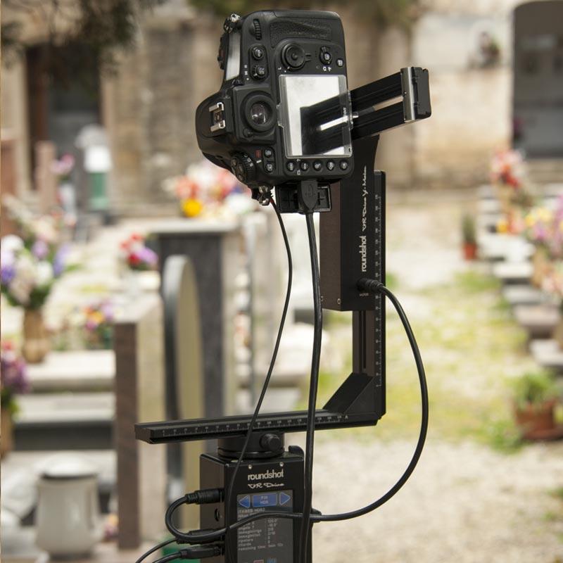 cimitero di Viggiano scatti con roundshot