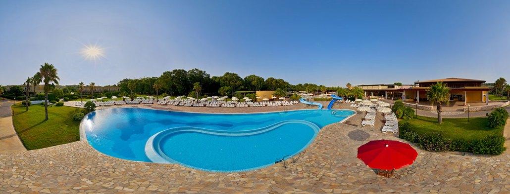 bluserena serenè village piscina