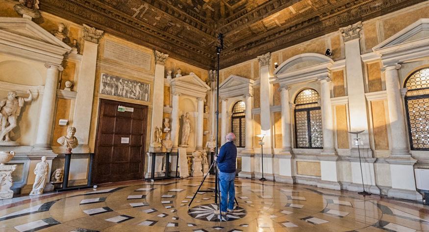 meraviglie di venezia statuario treppiede modulare
