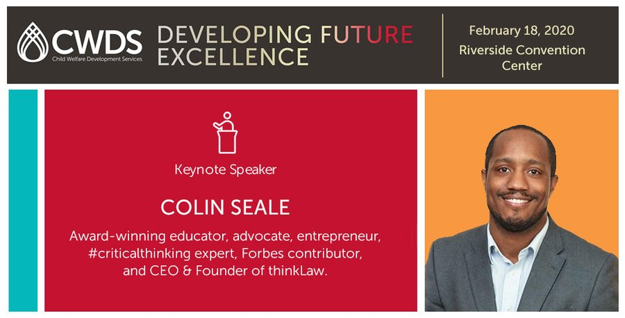 Gray is The New Black: Colin Seale to Deliver Keynote in Riverside, CA for Child Workforce Development Services Conference.
