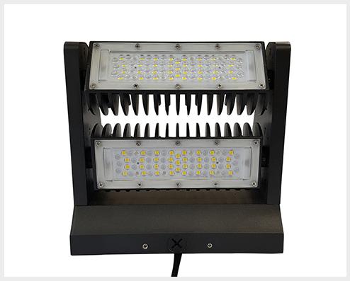 ThinkLite Energy LED rotating wall pack