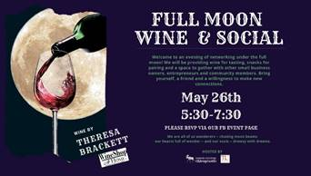 Think Local May 10-14;  Event May 26th – Wine Tasting at Unbound Potential Chiro!