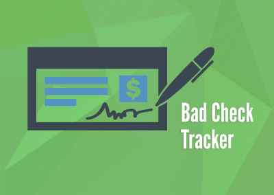 Bad Check Tracker