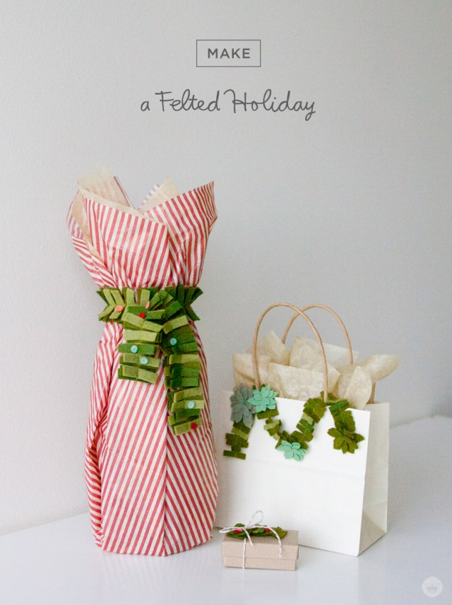 A felted holiday   felt holiday crafts from Hallmark artists   thinkmakeshareblog.com