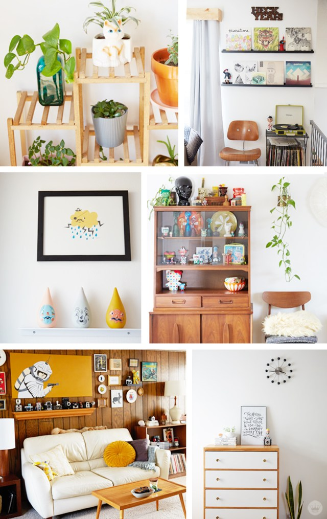 A home tour with designer couple Josh and Sandi | thinkmakeshareblog.com