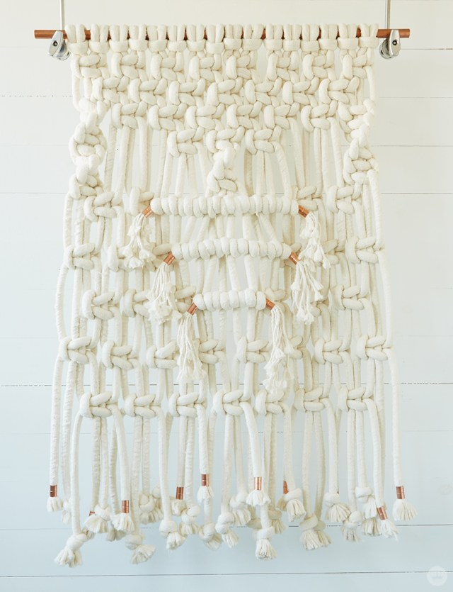 Macramé wall hangings: More ideas, tips, and inspiration