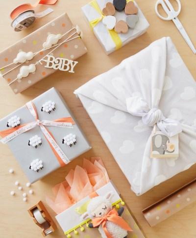 Baby Giftwrap Ideas   thinkmakeshareblog.com