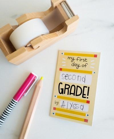 Back to School Zine | thinkmakeshareblog.com