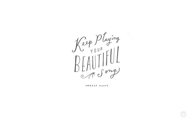 Beautiful Song June desktop wallpaper | thinkmakeshareblog.com