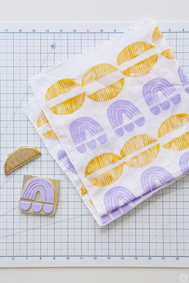 Cadeaux imprimés: bandana en caoutchouc