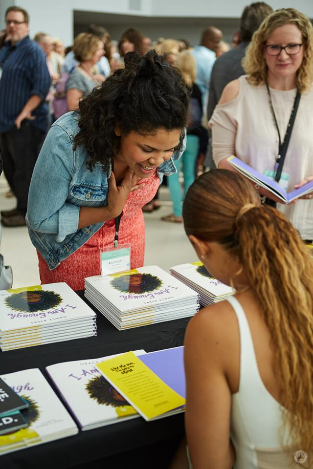 2018 Creative Leadership Symposium Grace Byers book signing | thinkmakeshareblog.com