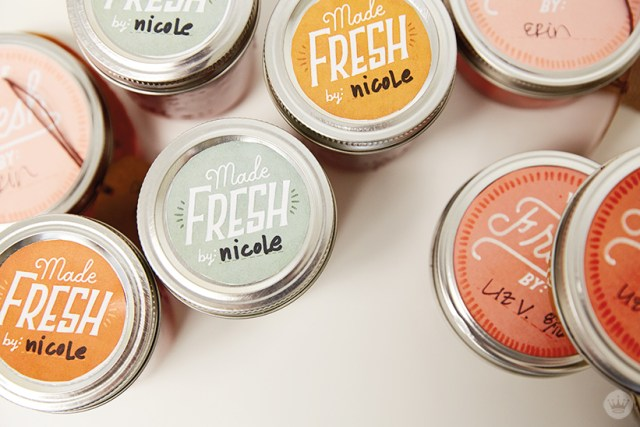 """Canned veggies with """"Made Fresh"""" labels 
