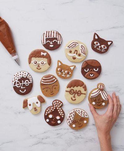 DIY Gingerbread Family | thinkmakeshareblog.com