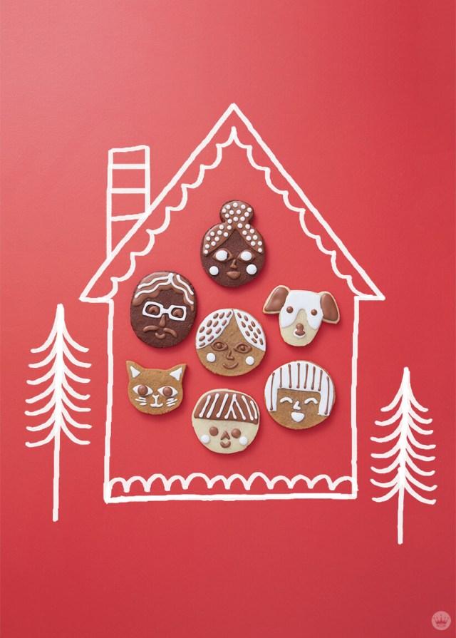 A house full of cookie faces | thinkmakeshareblog.com