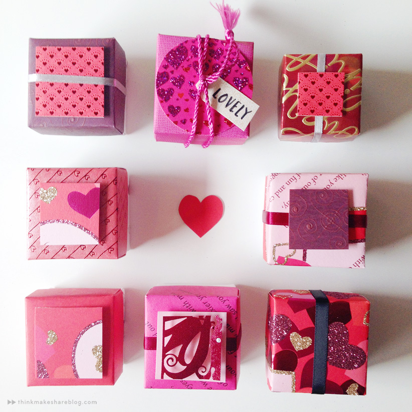 Make Valentine S Day Treat Boxes Out Of Recycled Greeting Cards