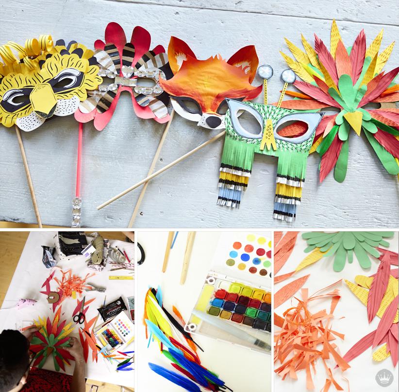 Diy Cardboard Masks: A Crafty Halloween Mask DIY