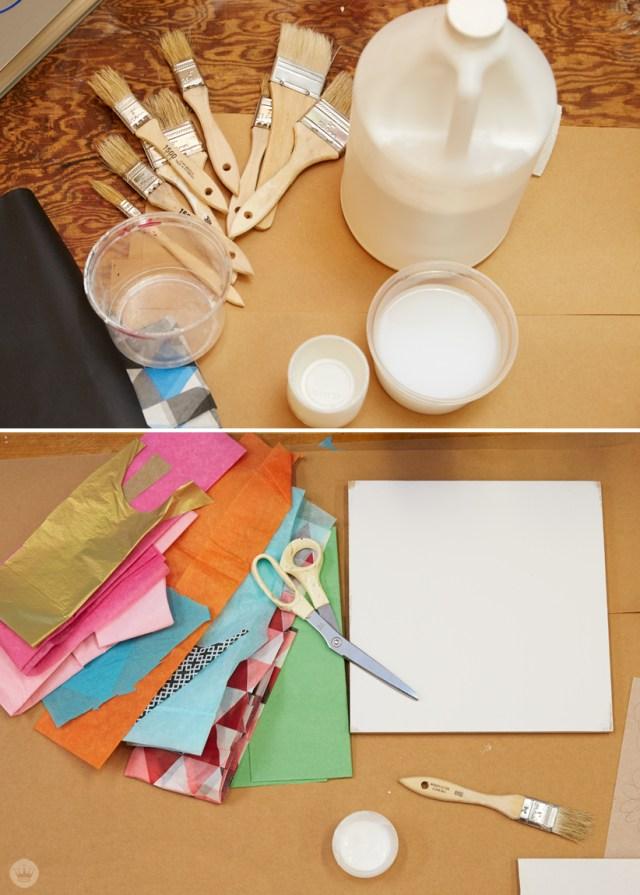 DIY cut paper art with Hallmark artists | thinkmakeshareblog.com